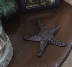 Starfish, Cast Iron Starfish, Office decor, Gift for Him, Beach Decor, Paperweight, Nautical Decor, Vintage Cast Iron Starfish, Home Decor by BeautyMeetsTheEye on Etsy