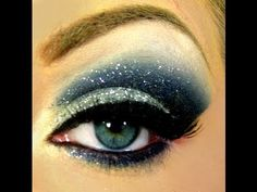 Again a cut crease smokey eye, I love them I prefer mine with a matte smoke and glitter lid!!!!   (The contrast is uber flattering for all eye shapes, plus this can be tailored to suit any individual!)    Google Image Result for http://beauty-video-tutorial.com/img/57/575/Starry_Eyes_and_How_to_Cut_Your_Crease_.jpg