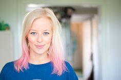 DIY // Dip Dye Hair  @ beautyjunkie.dk