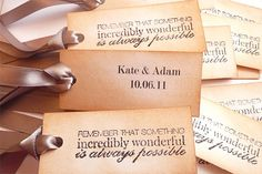 Frases para tag da lembrancinha de casamento