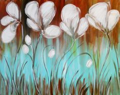 I am going to paint Dance of the Buttercups at Pinot's Palette - Elk Grove to discover my inner artist!