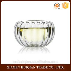 wholesale stripe Double Wall Clear Glass Cup
