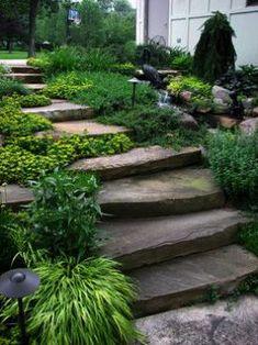10 Best Steps And Stairs Images Landscape Design Garden Steps Garden Design