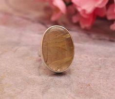 Quartz ring - Oval ring - Custom ring - Bezel ring - Gemstone ring - 925 Sterling Silver ring - Gift for her on Etsy, $75.00
