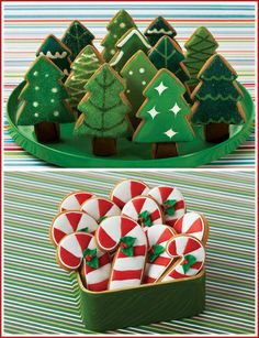 Gallery I've been baking Christmas cookies all day - wish I had time to make some beauties like these this year!I've been baking Christmas cookies all day - wish I had time to make some beauties like these this year! Easy Sugar Cookies, Christmas Sugar Cookies, Cute Cookies, Christmas Sweets, Christmas Cooking, Noel Christmas, Christmas Goodies, Holiday Cookies, Christmas Candy