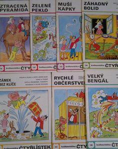 Čtyřlístek - Kreslený časopis o Myšpulínovi, Bobíkovi, Fifince a Pinďovi