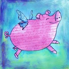 flying pig pictures - Bing Изображения