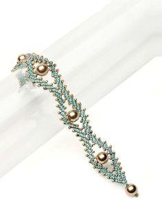 Double St. Petersburg Chain Bracelet diagrams
