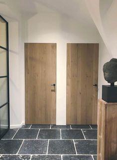 Lesser Seen Options for Custom Wood Interior Doors Midcentury Interior Doors, Modern Interior, Home Interior Design, Wooden Interior Doors, Exterior Design, Modern Wood Doors, Custom Wood Doors, Wooden Doors, Wooden Bedroom