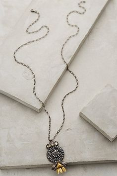 Anthropologie LEVECHE PENDANT NECKLACE #anthrofave