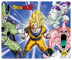 Tapis de souris Dragon Ball Z Son Goku Super Saiyan