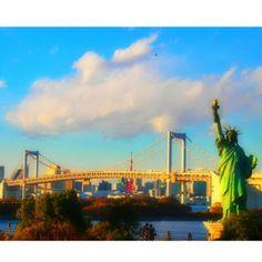 自由の女神像 (Odaiba Statue Of Liberty)