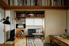 中野の戸建 - House Renovation in Nakano Room Interior, Interior Design, My Ideal Home, Interior Concept, Japanese Interior, Cool Rooms, House Rooms, Home Living Room, Home Furniture