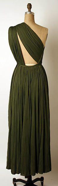 Evening dress Designer: Madame Grès (Alix Barton)  (French, Paris 1903–1993 Var region) Date: ca. 1953