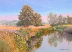 River Blackwater at Ulting Essex. Throughout The World, Impressionist, Britain, Country Roads, River, Fine Art, Landscape, Gallery, Graham
