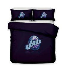 Home Decoration Design  Bedding NBA Purple Utah Jazz Logo Bedding Sets Bohemian Comforter Bedspreads Brown Bed Linen, Neutral Bed Linen, Neutral Bedding, Purple Bedding, Bohemian Bedding Sets, 3d Bedding Sets, Utah Jazz, Bed Linen Design, Bed Design