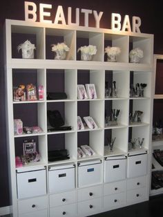 Beautiful Lash Studio Decor Design Ideas How are you? This time we want to give a new inspiration about Lash Studio Decor. Maybe it's not new because we took some sample images from various s… Make Up Storage Ideas For Jenny Buckland Hair and Make up