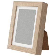 RIBBA Frame - white stained oak effect - IKEA | JD 3.250