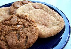 Sugar and Spice Cookies (Molasses Crinkles and Snickerdoodles)