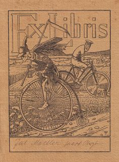 Ex Libris, this would make an interesting tattoo, the reaper part