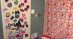 A bow door because the girls have so many bows!!