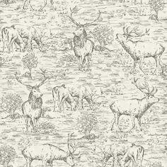 Desmond Braemore Designer tissu coton blanc motif floral rose