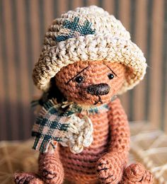Angelynn, A Miniature Bear - Ravelry - a knit and crochet