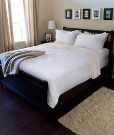 HEMNES Bed frame, black-brown | HEMNES, Bed frames and Solid wood