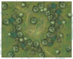 Bandit camp battle map