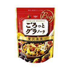 NISSIN Gorotto Granola Dried Fruit - 500g - Takaski.com
