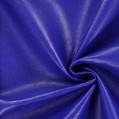 Nappaläderimitat 1 - Polyuretan - Polyester - kungsblått