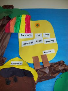 Chalk Talk: A Kindergarten Blog: Terrific Toucans