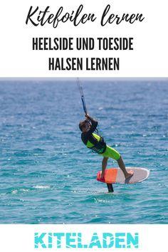 Als Kitefoil Anfänger sind die ersten geflogenen Meter bereits eine große Herausforderung. Doch hast Du Dich nach einigen Foilsessions erst an die Fahreigenschaften des Kitefoils gewohnt, klopft auch bereits die nächste Herausforderung an der Tür. Die Kitefoil Halse!  #kite #kitefoil #kitefoilen
