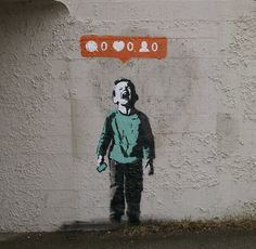 """""""Nobody likes me"""" by IHearthStencil, Vancouver"""