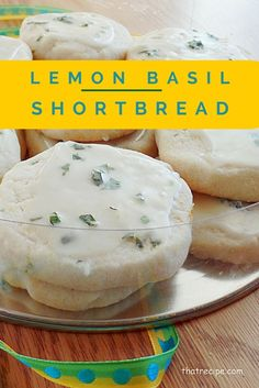 Lemon Basil Shortbre