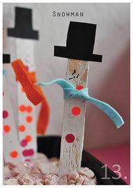 Snowman Kids Crafts