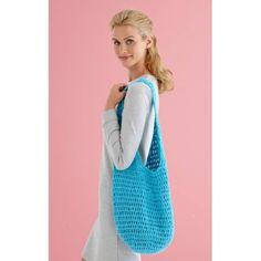 4 Ball Market Bag (Crochet) - Lion Brand Yarn