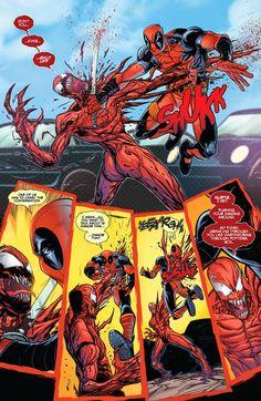 The Venom Site: deadpool vs carnage 3 preview