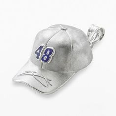 """Insignia collection nascar jimmie johnson sterling silver """"48"""" baseball cap pendant on shopstyle.com"""