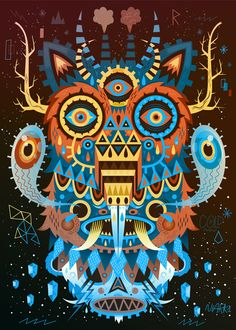 Prints 2012 by Seb NIARK1 FERAUT, via Behance