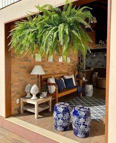 Pergola, Planter Pots, Barn, Table Decorations, Instagram, Furniture, Porches, Home Decor, Cozy