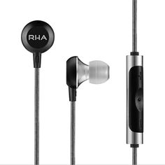 RHA - MA600i - Noise isolating, aluminium in-ear headphone with remote and microphone