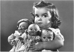 Step away from the dolls....