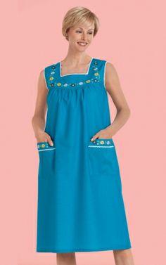 Night Wear Dress, Night Dress For Women, Nighties, Nightgowns, Spanish Baby Clothes, Shweshwe Dresses, Mode Abaya, Blue Summer Dresses, Plus Dresses