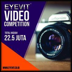 #InfoLomba #LombaVideo #KontesVideo #EYEVIT #Lapi #VideoCompetition EYEVIT Video Competition 2018 Berhadiah Total 22,5 Juta Rupiah  DEADLINE: 30 April 2018  http://infosayembara.com/info-lomba.php?judul=eyevit-video-competition-2018-berhadiah-total-225-juta-rupiah