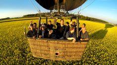 Eines der schönsten Fotos die wir während einer Heißluftballonfahrt aufgenommen haben.