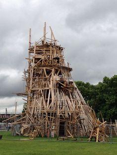 三笠プロジェクト2013、パリの川俣正 : 『文化』を勝手に語る