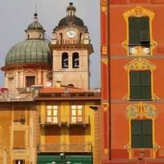 The colors of Chiavari, Italy.  This is the first Pin I have seen of beautiful Chiavaria.....  my special town.