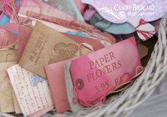 Pretty bookmarks by the Vintage Rabbit