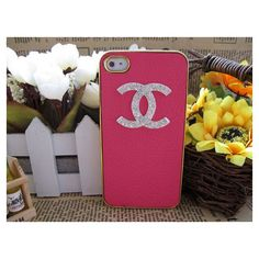 Handmade iPhone 4 Case , iPhone 4s Case , Chanel iPhone Case ,... ❤ liked on Polyvore